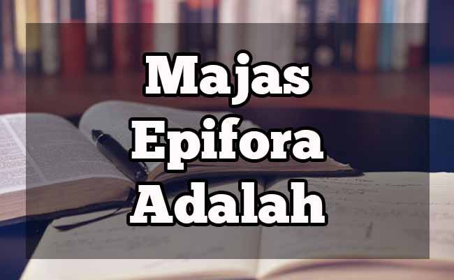 epifora adalah